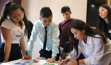 Young people's ideas on peace and the Sustainable Development Goals in Kyrgyzstan
