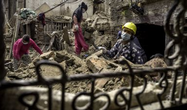 When disaster strikes: lessons for humanitarian response in Nepal