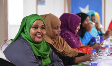 Women's meaningful participation in building peace: insights from Myanmar and Somalia