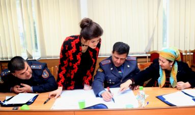 Support to Tajikistan community-centred police reform