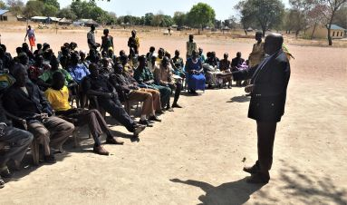 Community security and peacebuilding in South Sudan