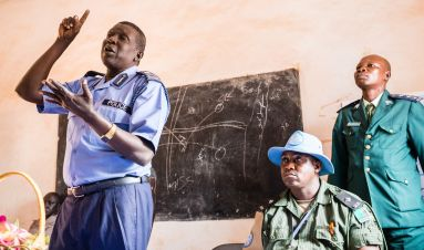 Transitional policing in South Sudan's peace agreement: Joint Integrated Police