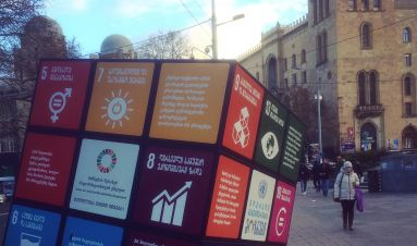 Greater than the sum of our parts: global partnerships for Goal 16
