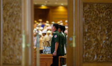 Democratising Myanmar's security sector: enduring legacies and a long road ahead