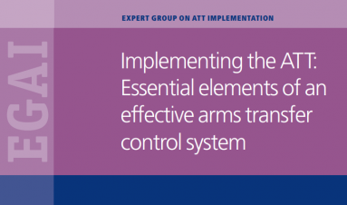 Implementing the ATT: Essential elements of an effective arms transfer control system