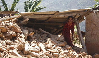 Assessing conflict in earthquake-affected districts of Nepal