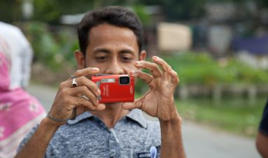 Participatory photoproject in Bangladesh