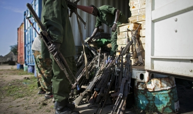 Not child's play: recognising explosives in South Sudan