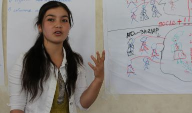 Keeping girls' education high on the agenda in Kyrgyzstan