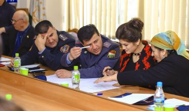 Starting a conversation on domestic violence in Tajikistan